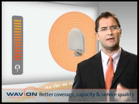 High Quality Wi-Fi BEAMFORMING From Alvarion (Wavion)