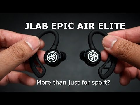 Jlab Epic Air ELITE (2019 Version) - Class 1 Bluetooth 5.0? Can It DO IT ALL?