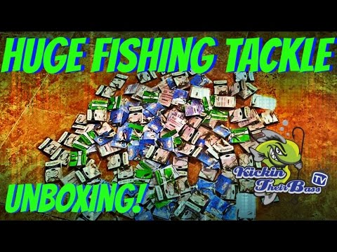 HUGE Fishing Tackle Unboxing! ( Fish Head )
