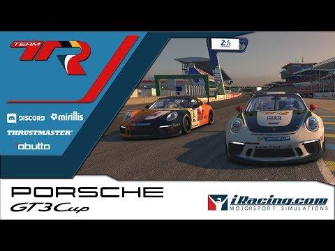 iRacing - Porsche cup S3W1 - Le Mans - Commencer sur une bonne note.