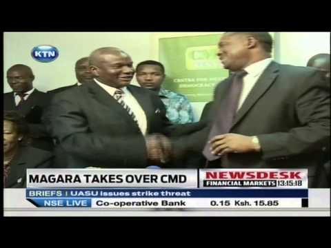 Magara takes over as chairman of the Centre for Multiparty Democracy (CMD)