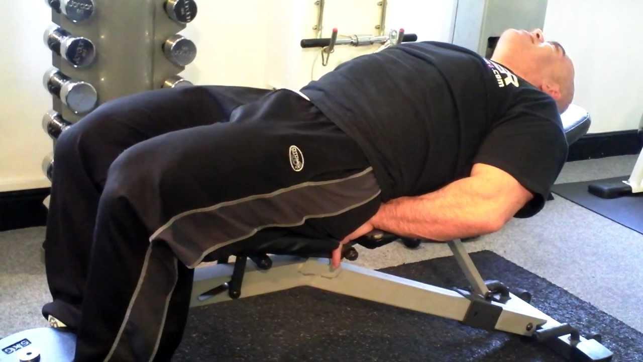 Dumbbell Leg Extension - YouTube