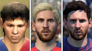 Lionel Messi evolution: FIFA 06 - FIFA 19