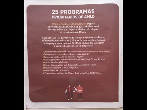 AMLO 2024: 25 STEPS FOR MEXICO