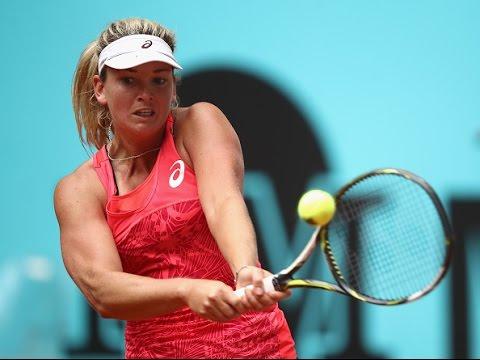 2017 Mutua Madrid Open Round of 16 | CoCo Vandeweghe vs Carla Suarez Navarro | WTA Highlights