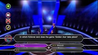 ITANI Plays Who Wants To Be A Millionaire Video Game Quiz Questions