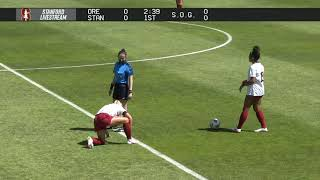 Stanford Women's Soccer vs University of Oregon March 28, 2021