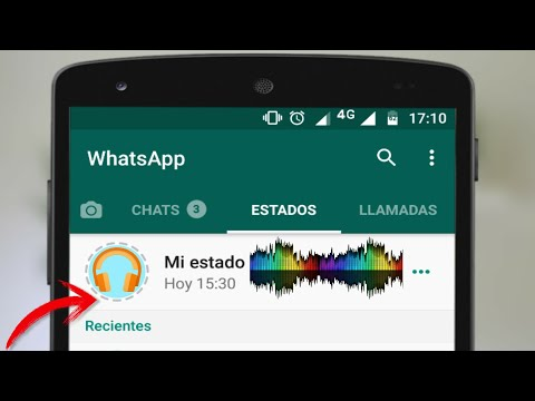 Como poner as en tus Estados de WhatsApp