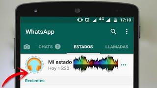 Como poner Musicas en tus Estados de WhatsApp