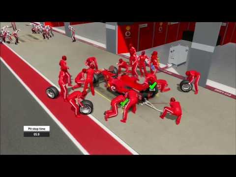 F1 2006 (Championship Edition) Italian GP Race Gameplay