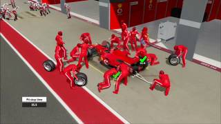 F1 2006 (Championship Edition) Italian GP Race Gameplay