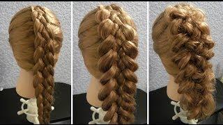 Коса из 5 прядей: схема плетения с фото и видео