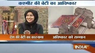 Kashmir's Zufa Iqbal Brings Revolution in 'Namda' Mattress Manufacturing