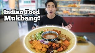 Insanely Tender Beef Lungs! Crispy Indian Rojak! | Indian Food Mukbang!