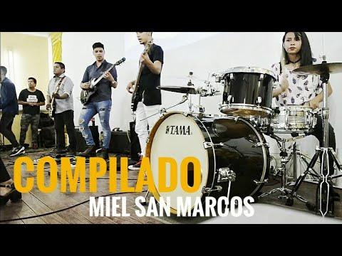 Rey Vencedor  fiesta  Viene ya  y No callare Compilado Miel san marcos cover