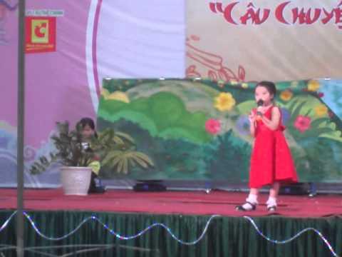 Bông hoa cúc trắng - Trường Tiểu học Phú Cát, Tp Huế