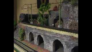 Vintage Märklin Model Trains in Action