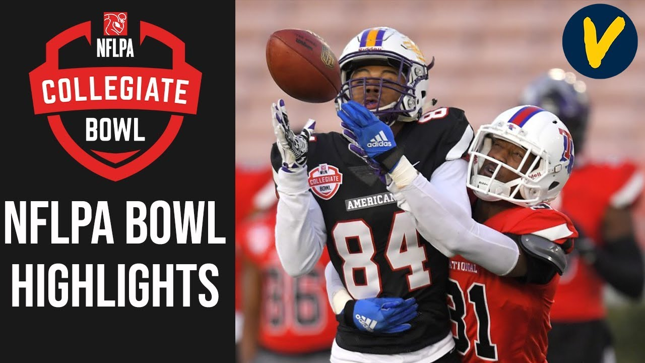 NFLPA Collegiate Bowl Highlights   2020 College Football All Star Game
