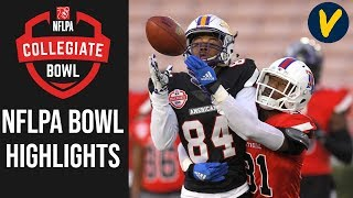 NFLPA Collegiate Bowl Highlights | 2020 College Football All Star Game