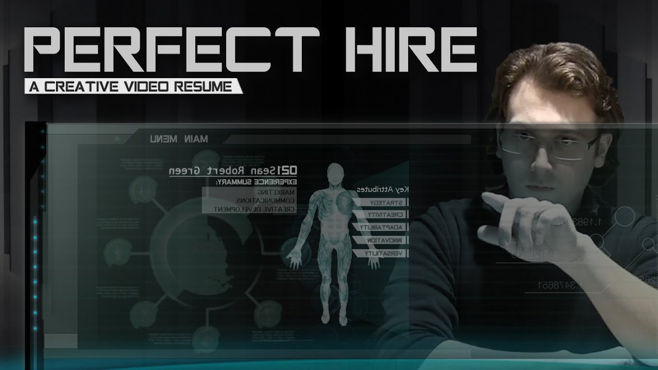 Perfect Hire: A Creative Video Resume (Best In HD) - YouTube