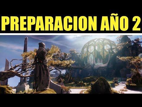 Destiny 2 - ADVERTENCIAS! Cosas que tienes que saber! Que Perderás! Que Guardar! | PREPARACIÓN AÑO 2 thumbnail