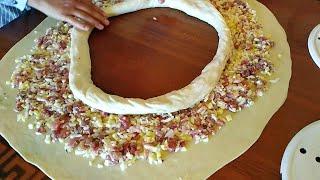 Когда лень раскатать тонкое тесто, но хочется вкусный ХАНУМ. УЗБЕКСКИЙ ХОНУМ.