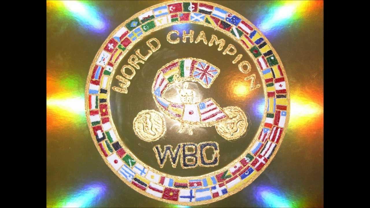 Hand Crafted Wbo And Wbc World Championship Boxing Belts