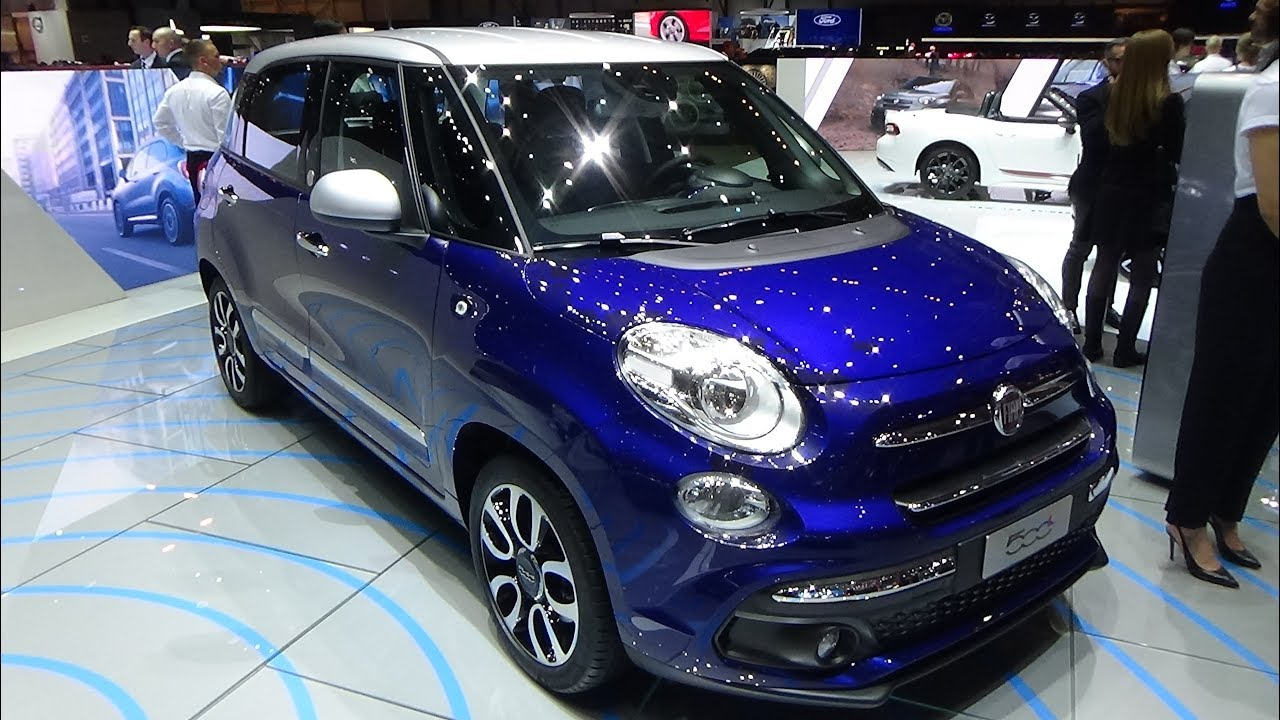 2018 fiat 500l mirror exterior and interior geneva motor show 2018 youtube. Black Bedroom Furniture Sets. Home Design Ideas