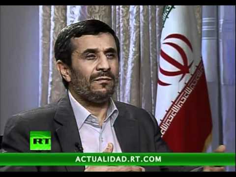 Entrevista con Mahmoud Ahmadineyad, presidente de la república islámica de Irán