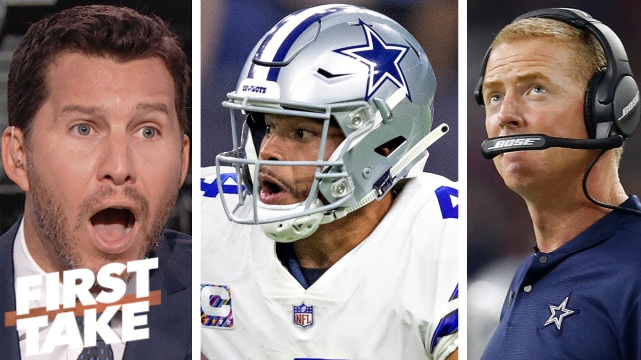 9f5580bd8cc Dallas Cowboys are run by 'losers,' Jason Garrett era 'has to be over' –  Will Cain | First Take
