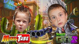 Mikel VS. Leo 🌵 en Plantas Contra Zombies: Garden Warfare 2