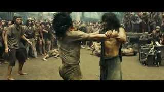 Repeat youtube video Ong Bak 2 Slave Fight Scene HUN DUB HD