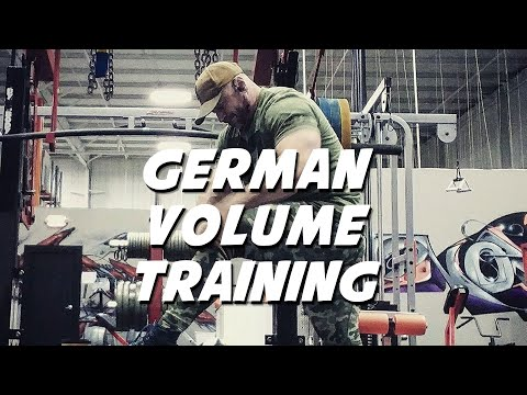 3 Things to Consider Before Trying German Volume Training