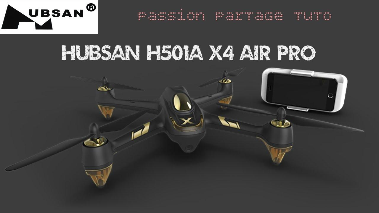 Test Hubsan H501a X4 Air Pro