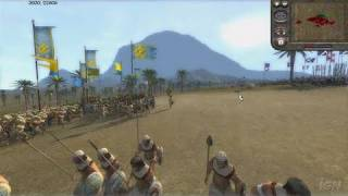 Medieval II: Total War PC Games Gameplay - Desert Warfare