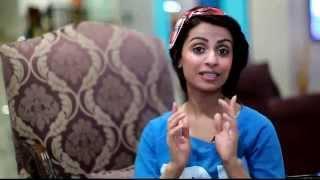 كلمة الفنانة نسرين سروري مسلسل ( غريب بين اهله ) لـ مجلة صور الكويت