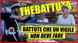 15 Battute Squallide che un VIGILE non Deve Fare - [Esperimento Sociale] - theShow