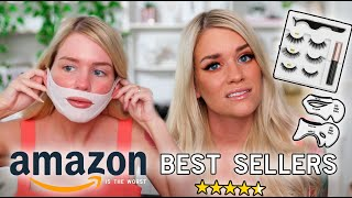 TRYING OUT AMAZON'S BEST SELLER BEAUTY PRODUCTS