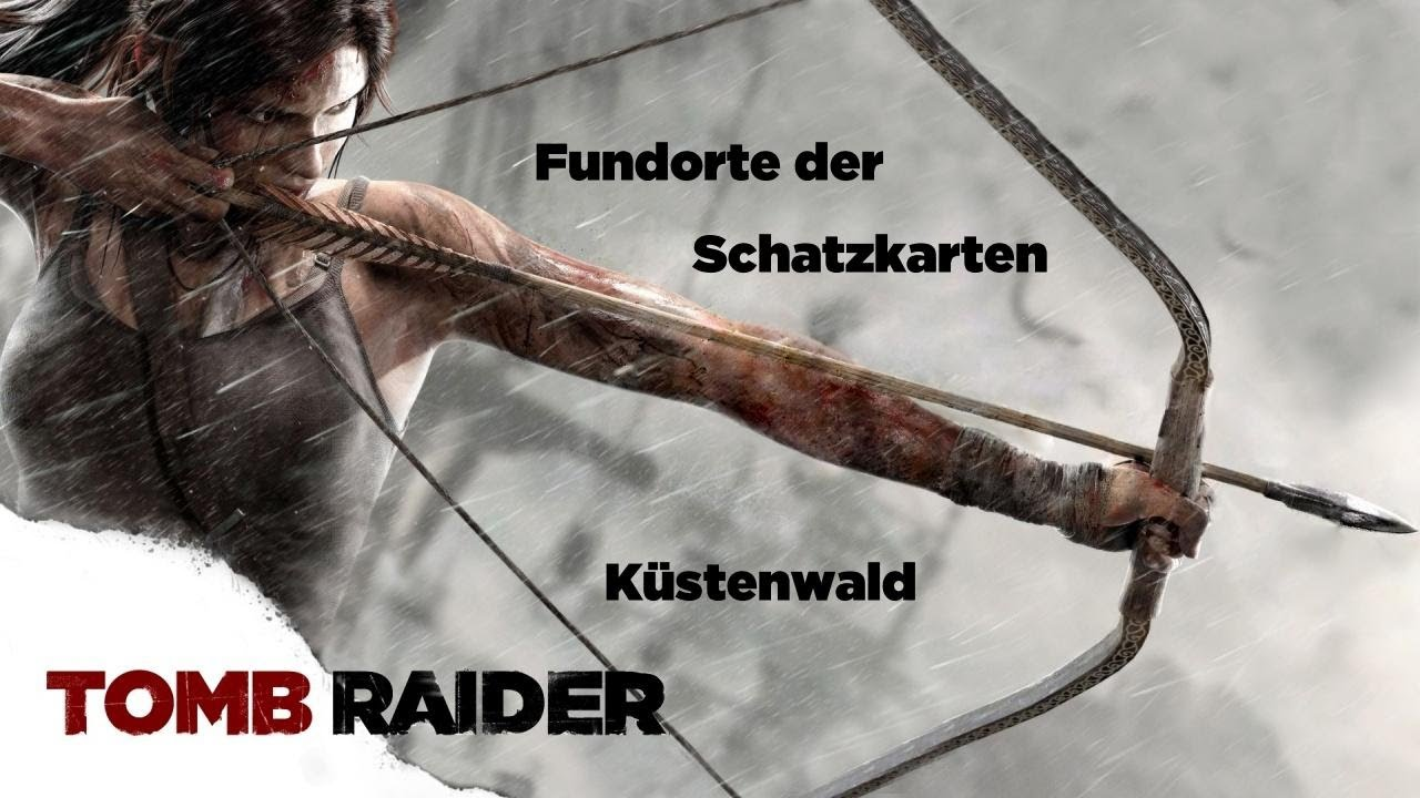 Tomb Raider Schatzkarten
