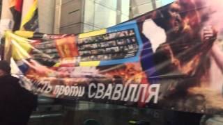 Полицейские арестовали человека, который вёз дрова на Майдан