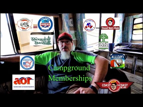 Campground memberships we use to live full time in a RV on a budget