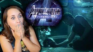 Rachel Reacts to AVENGERS 4 ENDGAME Trailer    Adorkable Rachel