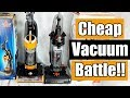 Cheap Vacuum Battle! - Bissell CleanView vs  Eureka Powerspeed NEU188A NEU182A