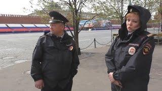Москва. Агрессивная безграмотность полицейских на Красной площади.