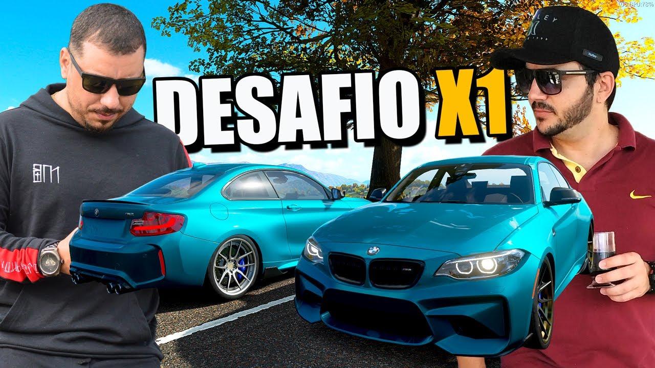 DESAFIEI O @Loyd Games PARA UM X1 - FORZA HORIZON 3