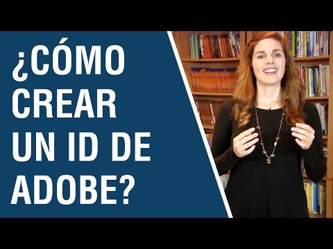 Tutorial De EBooks - ¿Cómo Crear Un ID De Adobe?