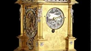 Weber Table Clock Conservation