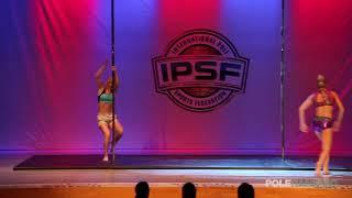 Irina Makushina vs Zoë Timmermans - IPSF World Pole Championships 2018