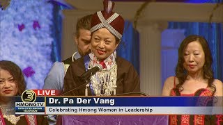 3 HMONG NEWS: DR. PA DER VANG SPEAKING AT MN HMONG NEW YEAR 2018.