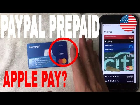 ✅  Can You Use Paypal Prepaid Debit Mastercard With Apple Pay Wallet 🔴
